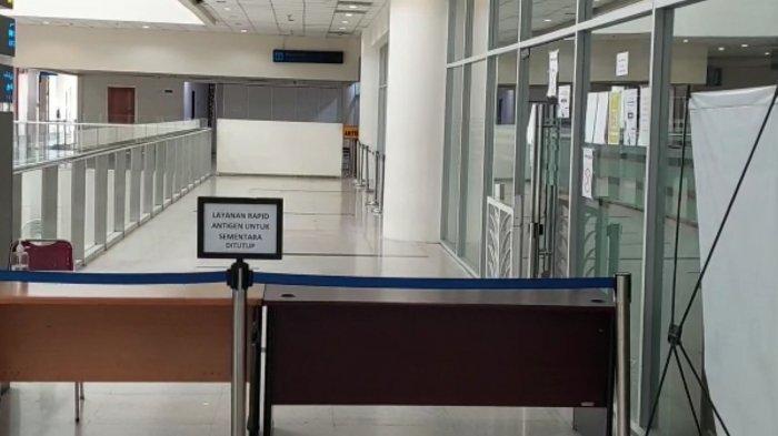 Kondisi Terkini Tempat Rafid Antigen di Bandara Kualanamu Pascapengrebakan Polda Sumut