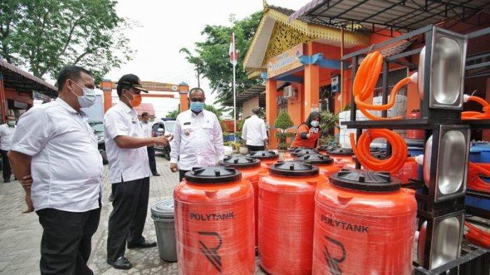 Antisipasi Penyebaran Virus Corona di Medan, Akhyar Sebut Puluhan Ton Disinfektan Telah Disemprotkan