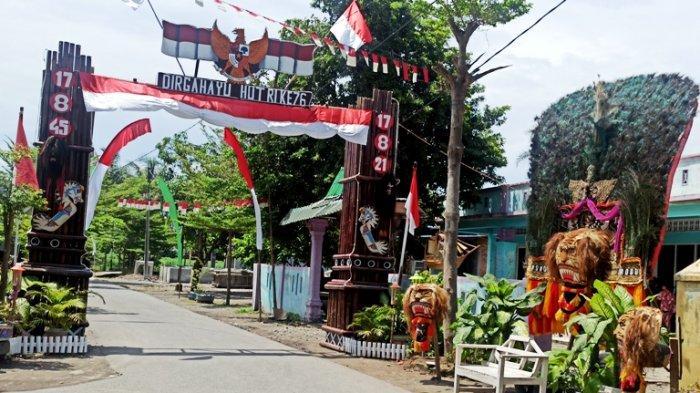 KEREN, Desa Kolam Gelar Lomba Hias Dusun, Ada Miniatur Pejuang Hingga Reog Ponorogo