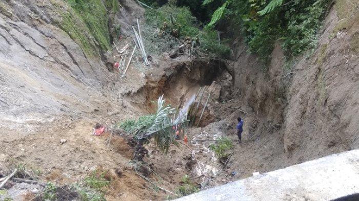 Longsor di Desa Sugihen Karo, Tim Pencari Belum Temukan Korban Kelima