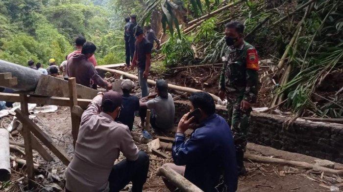 5 Orang Tertimbun Longsor di Desa Sugihen Kabupaten Karo, 1 Meninggal Dunia