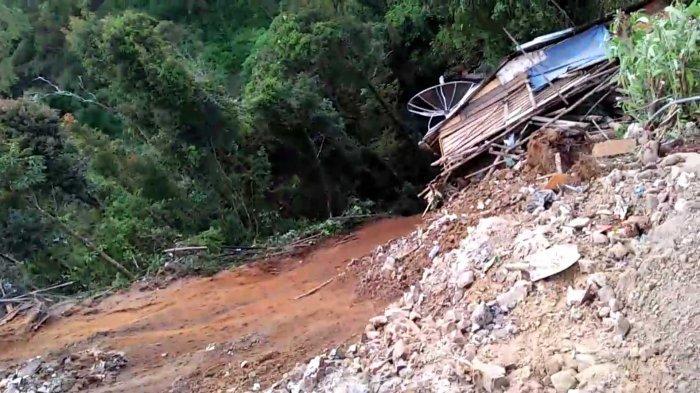 Hindari Longsor Susulan, BPBD Karo Minta Pedagang di Kecamatan Merek Tingkatan Pengawasan