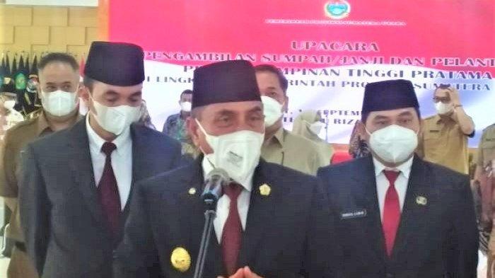 Gubernur Edy Rahmayadi Lantik Mantan Terpidana Jadi Kadiskes Sumut