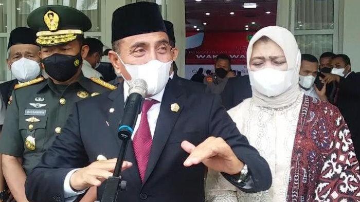 Kota Binjai dan Padangsidimpuan Masuk Kriteria PPKM Level 3, Edy Rahmayadi Kerahkan Tim Satgas Covid
