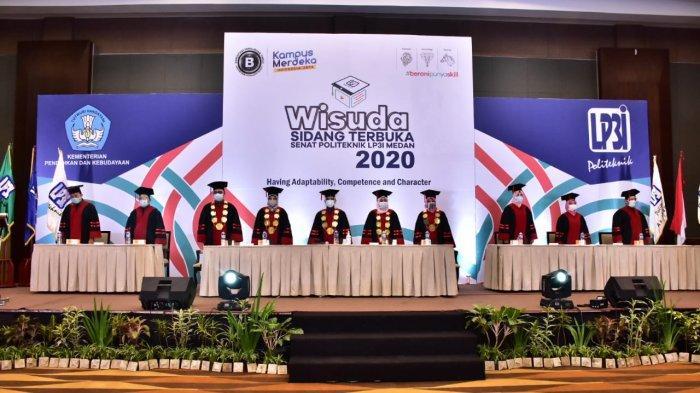 LP3I Medan Lantik 201 Wisudawan, Siap Bersaing dalam Dunia Kerja dan Usaha