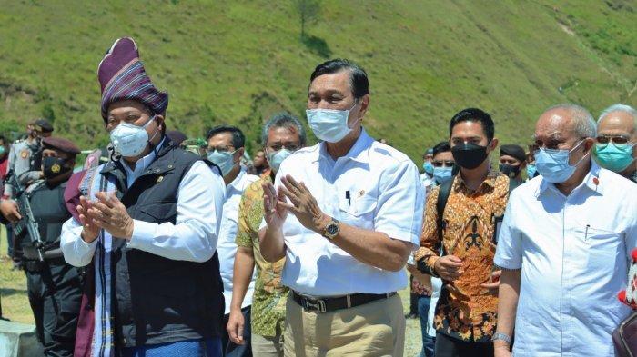 Tinjau Kesiapan DPSP Danau Toba, Menko Marves Lakukan Kunjungan ke Silahisabungan