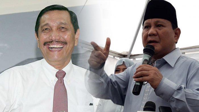 Jawaban Luhut Pandjaitan saat Diminta Komentari Foto Capres Prabowo, Hingga Penonton Tertawa