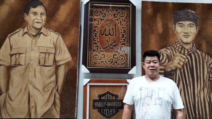 D'Saka Indonesia Hasilkan Lukisan dari Serbuk Kelapa, Harga hingga Rp 15 Juta