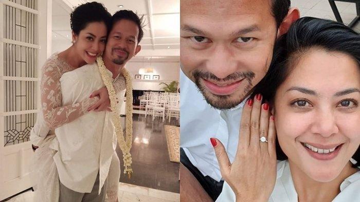 Lulu Tobing dan suami -
