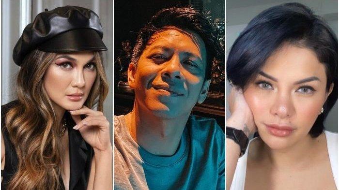 Luna Maya, Ariel NOAH, Nikita Mirzani