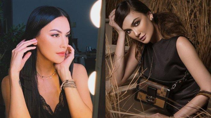 Luna Maya ngobrol bareng Sophia Latjuba melalui video call