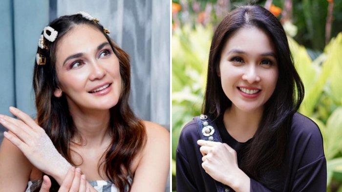 Dua Mantan Suami Syahrini, Luna Maya dan Sandra Dewi Lepas Tawa, Malah Ingat Sophia Latjuba