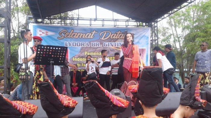 Pulang Kampung, Lyodra Ginting Disambut Pemuda Merga Silima dan Tokoh Karo di Deliserdang