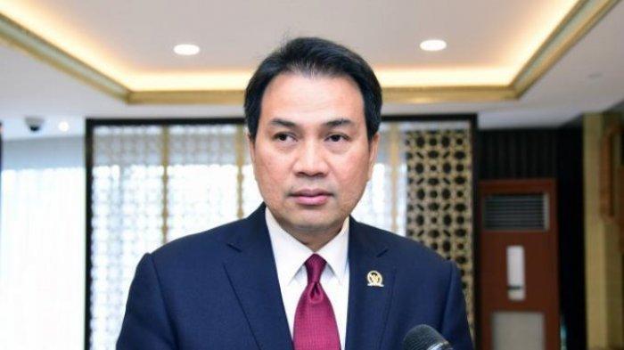 Wakil Ketua DPR RI Koordinator Bidang Politik dan Keamanan (Korpolkam) M Azis Syamsuddin.