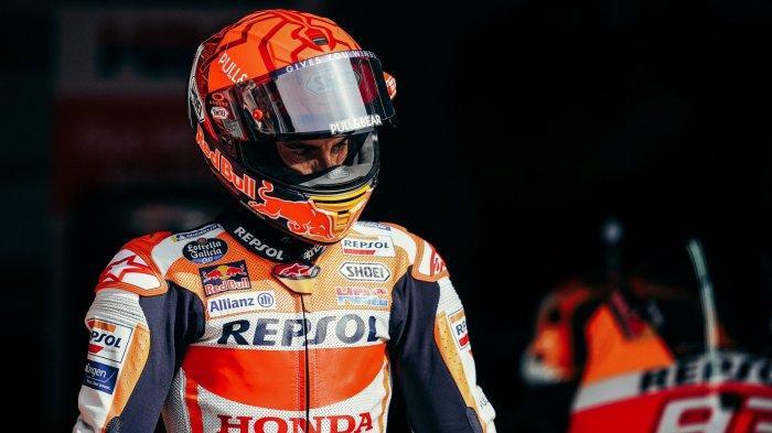 JELANG Jadwal MotoGP Inggris 2021, Marc Marquez Mulai Sering Bikin Kesalahan, Magisnya Hilang
