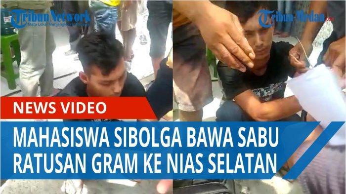 Mahasiswa di Sibolga Jadi Kurir Narkoba Antarpulau, Ditangkap saat Memasok Sabu ke Nias Selatan