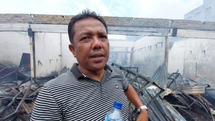 Kisah Pedagang Pakaian Korban Kebakaran Pajak Lama Perbaungan, Barang Baru Dibeli Jadi Abu
