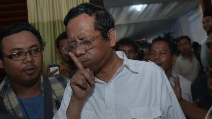 Sengaja Disusupkan ke Tim Prabowo, Mahfud: Itu Bohong