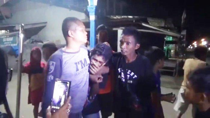 Dua Pencuri Motor di Tanjungmorawa Dipukuli Warga, Berlagak Tak Berdosa Datang Kembali ke Lokasi
