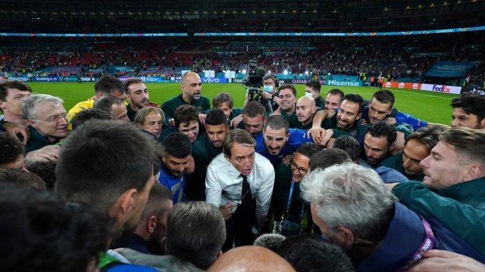 LINK Live Streaming Italia Vs Inggris Final Euro 2020 Jam 02.00, Mancini: Ini Laga Taktik dan Fisik