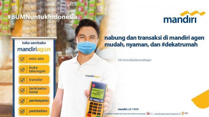 Mudahkan Masyarakat Lakukan Transaksi Keuangan Bank Mandiri Perkuat Agen Bank Tribun Medan