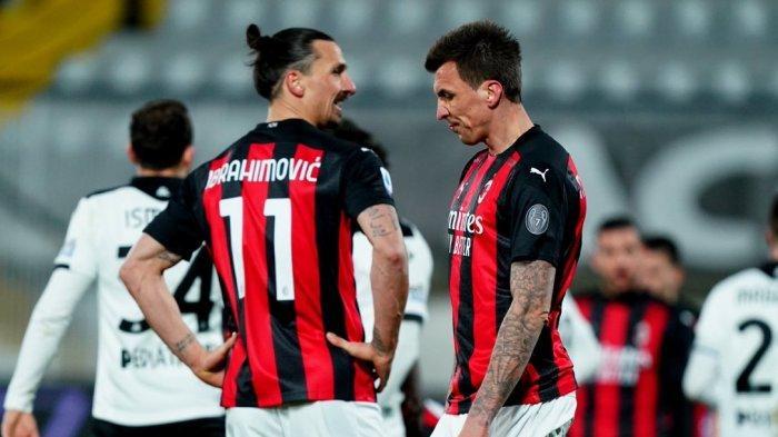DAFTAR Skuat AC Milan Hadapi Inter Milan, Rossoneri Minus Mandzukic di Derby della Madonnina