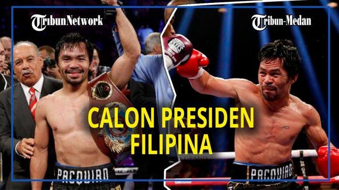 Manny Pacquiao mencalonkan diri sebagai Presiden Filipina