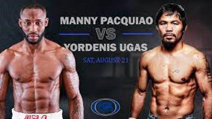 JADWAL Tayang Tinju Dunia Manny Pacquiao Vs Yordenis Ugas Pekan Ini, The Pac Man Lebih Diunggulkan