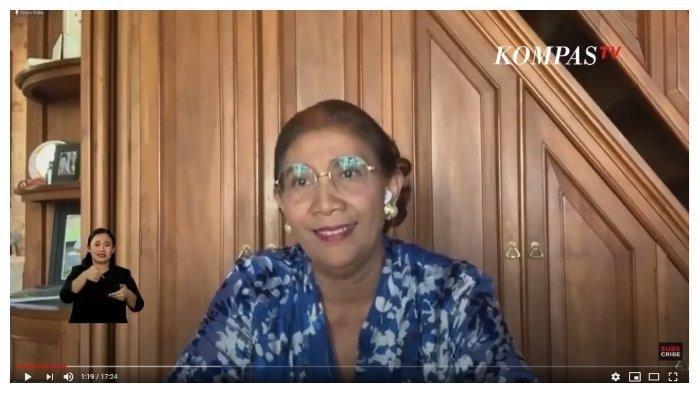 Mantan Menteri Kelautan dan Perikanan, Susi Pudjiastuti