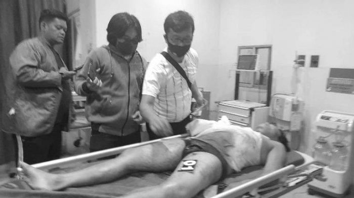 NGERI, Oknum Wartawan Online Siantar Ditembak Mati OTK Hingga Bercucuran Darah