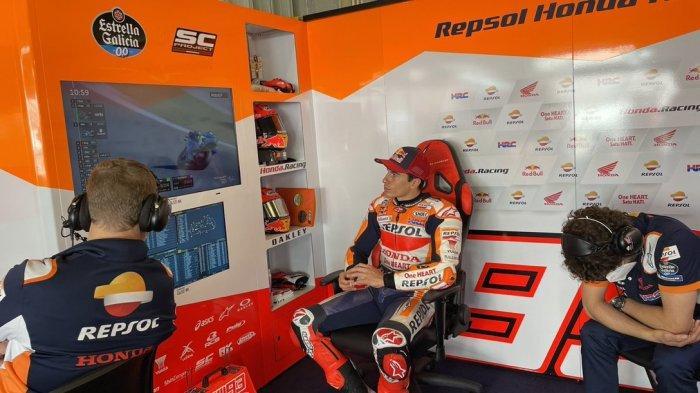 UPDATE Jadwal MotoGP Spanyol 2021, Marc Marquez Optimistis Tampil Konsisten Di Sirkuit Jerez