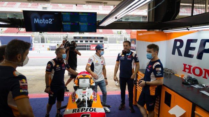 Update MotoGP Qatar 2021 - Para Rival Langsung Bereaksi Usai Tahu Marc Marquez Masih Absen