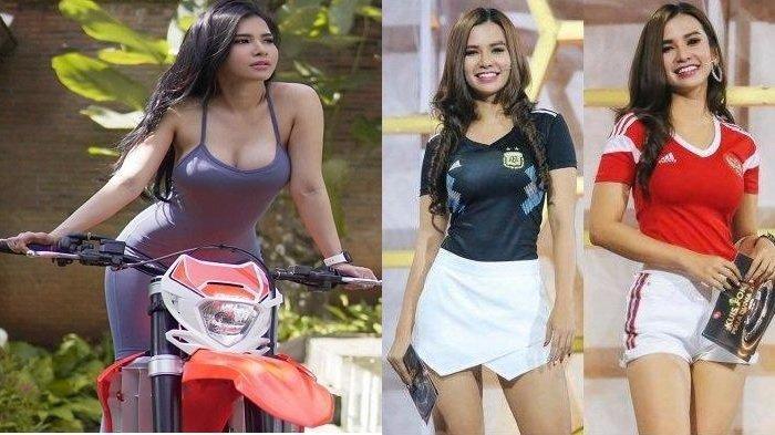 Intip Aksi Maria Vania Bagikan Tips Gaya Olahraga Untuk Pengendara Motor