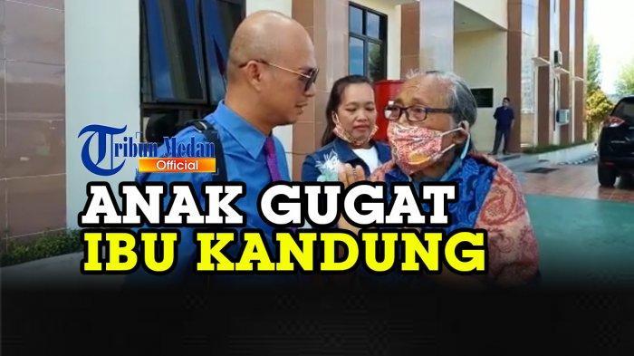 Kelanjutan Kasus Anak Gugat Ibu Kandung, Mariamsyah Siahaan (74) Kirim Surat ke Panglima TNI