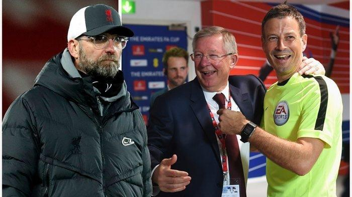 Jelang Super Big Match Liverpool vs MU, Munculnya 'Penalty' Mark Clattenburg, Juergen Klopp Bereaksi