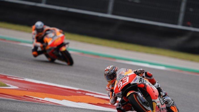 HASIL FP2 MotoGP Amerika 2021 - Rossi Selisih 1,467 Detik, Marquez Tercepat, Tanda Juara di COTA?