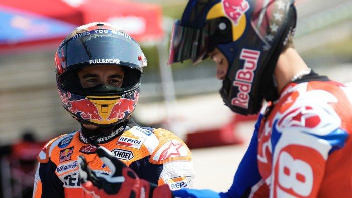JAM Tayang MotoGP Amerika 2021 Hari Ini, Marquez Kaget Murid Rossi Pole Position Lagi, Live Trans7
