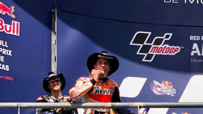 Marc Marquez juara MotoGP Amerika 2021