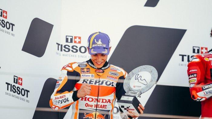 Finis Ke-2 di Kampung Halaman Sendiri, Bos Repsol Honda Soroti Perjuangan Marquez di MotoGP Aragon