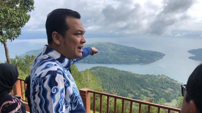 Kunker Komisi VI DPR RI ke Bandara Silangit, Martin Manurung: Bikin Hiburan Sambut Pengunjung