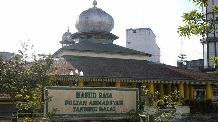 Masjid Raya Sultan Ahmadsyah, Salah Satu Masjid Tertua di Sumut Peninggalan Kesultanan Negeri Asahan