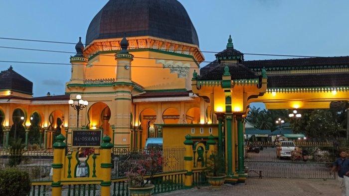 Masjid Raya Al-Osmani, Saksi Sejarah Pusat Peradaban Islam Di Kota Medan