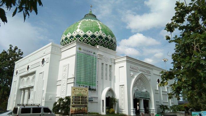 Masjid Annazhirin Medan yang Unik dan Megah dengan Empat Kombinasi Konsep Arsitektur
