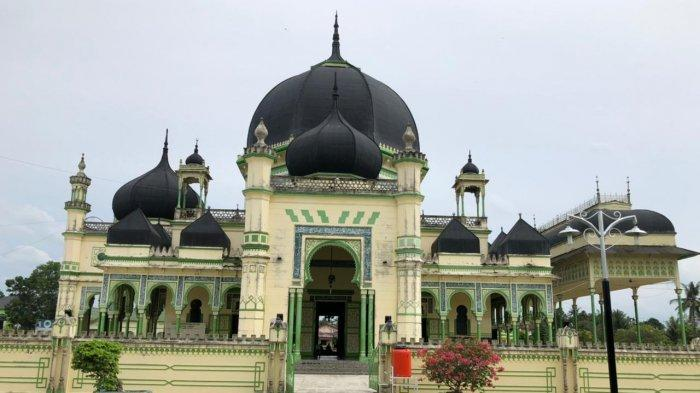 Masjid Azizi, Bangunan Bersejarah Peninggalan Kesultanan Langkat, Ramai Dikunjungi Pendatang