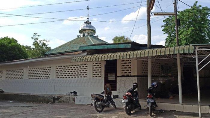 Berdiri Sejak 1887, Masjid Jamik Kebun Bunga Pertahankan Bangunan Beton Asli