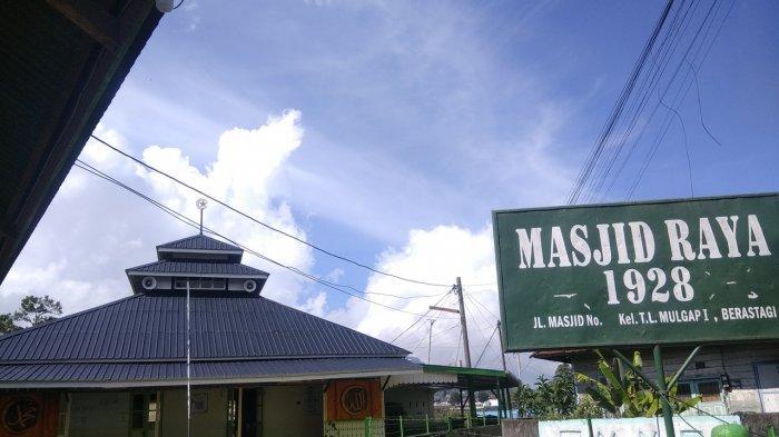 Masjid Raya Berastagi, Saksi Bisu Penyebaran Agama Islam