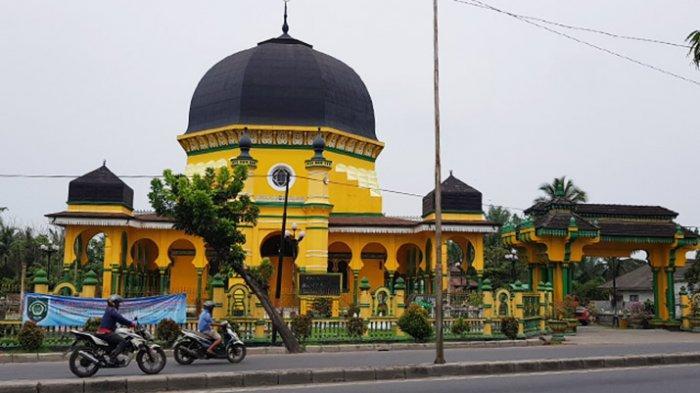 Masjid Raya Al Osmani Jejak Peradaban Islam di Kota Medan