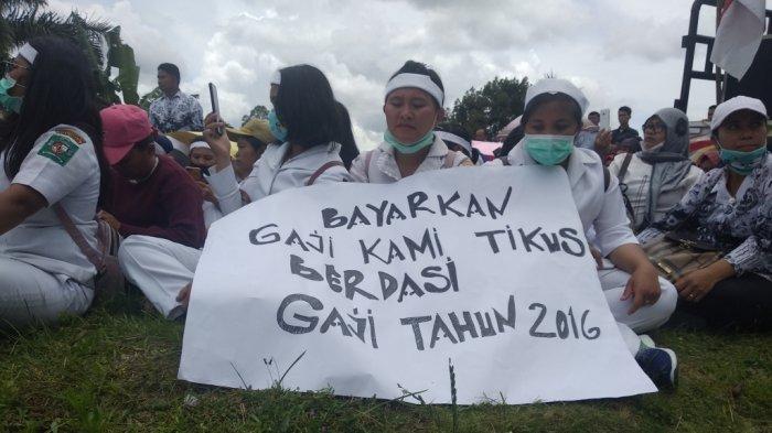 Dapat Ancaman Pecat Karena Demo Upah, Dinkes Simalungun: Kita Harus Permisi
