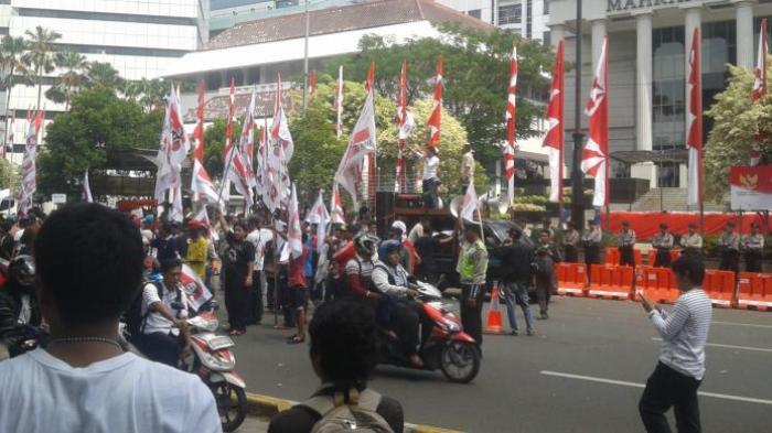 Massa Demo di MK Menipis, Jubir Prabowo-Hatta: Masih Pemanasan