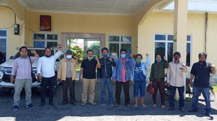 Masyarakat Adat Datangi Polres Simalungun, Pertanyakan Tindak Lanjut Proses Hukum Humas PT TPL